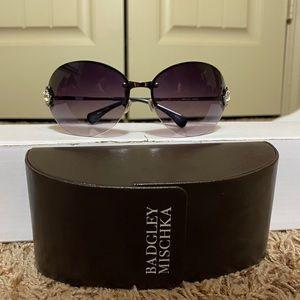 Like New Badgley Mischka Grace Sunglasses